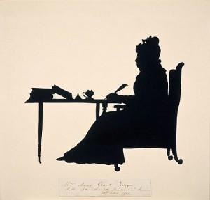 Mrs Grant of Laggan, by Edouart