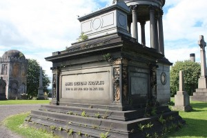 The_grave_of_James_Sheridan_Knowles,_Glasgow_Necropolis